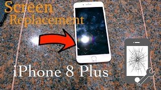 iPhone 8 Plus Screen Replacement CHEAP FIX at Home DIY (LESS THAN $40)