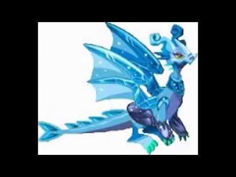 Combinaciones para dragones legendarios Legendario Cristal Viento Espejo full HD