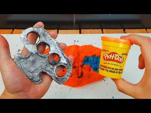 Fiz um Soco Inglês de Chumbo com Massinha Play-Doh!!! thumbnail