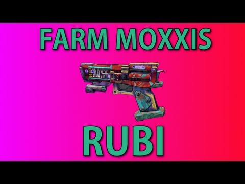 Farming Moxxis Rubi Level 61 UVHM / Rakkaholics Anonymous / Unique Weapon Guide / How To
