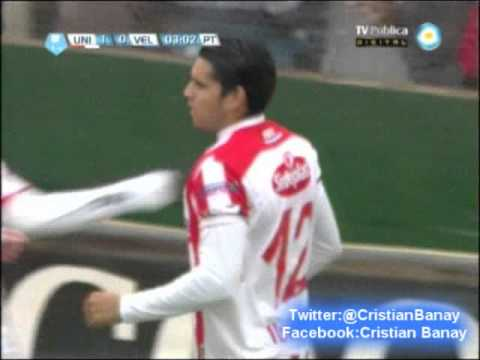 Union 1 Velez 1 (Relato German Lucero) Torneo Final 2013 Gol de Union