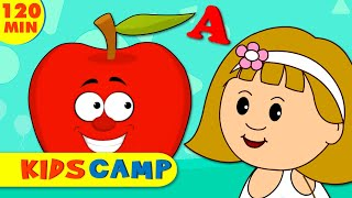 ABC Phonics Song - A For Apple - ABC Alphabet Songs | Sounds for Children By KidsCamp