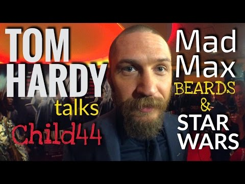 TOM HARDY ON MAD MAX, STAR WARS & HIS BEARD - At Child44 Premiere in London