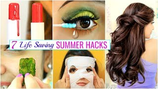 7 LIFE Saving SUMMER HACKS for Every TEENAGERS .. | #Haircare #Skincare #Beauty #Anaysa