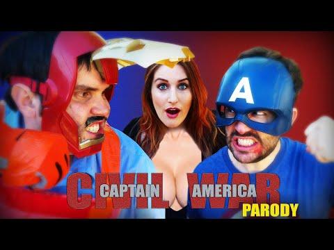 Captain America: Civil War Parody
