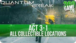 Quantum Break Act 3-1 Collectibles Locations (Research Facility)