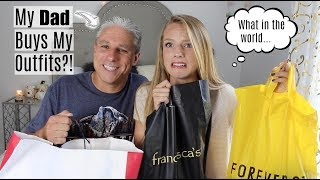 Download Lagu MY DAD BUYS MY OUTFITS?! | Challenge Gratis STAFABAND