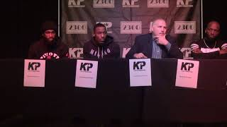 Kings Promotions Press Conference Brunson vs Woods