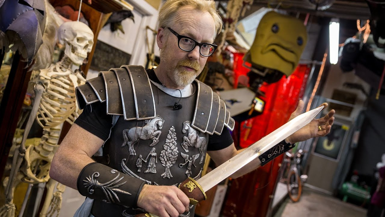 Gladiator Armor Types Adam Savage's Gladiator Armor