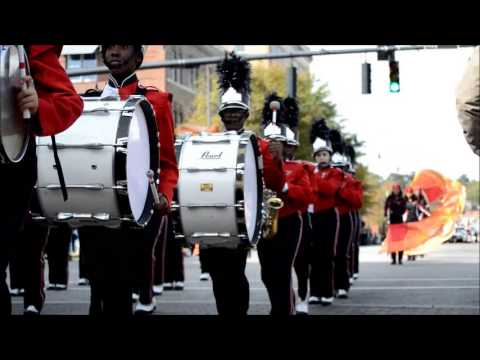 Seventy FIrst High School at 2013 Veterans Day Parade in Fayetteville NC
