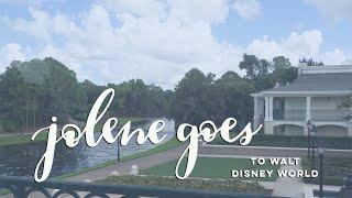 Jolene goes to Disney World: Arrival