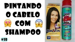 COMO PINTAR O CABELO USANDO SHAMPOO