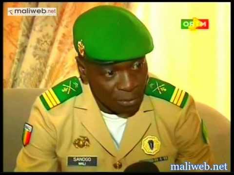 L'arrivé de Dioncounda Traoré: Le capitaine Amadou Haya Sanogo n'a pas manqué le rendez-vous