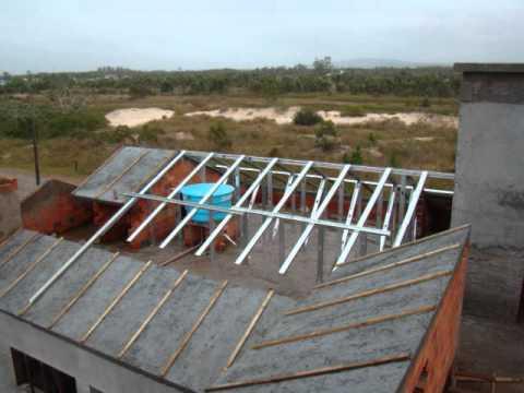 Construção steel frame desvantagens