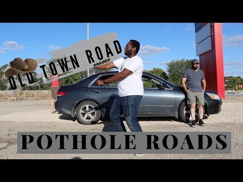 Old Town Road Parody - Pothole Roads