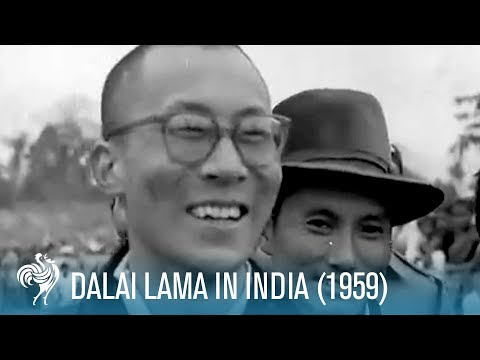Dalai Lama In India (1959)