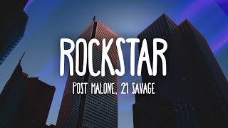 Download Lagu Post Malone - Rockstar (Lyrics) ft. 21 Savage Gratis STAFABAND