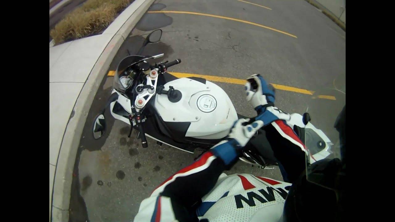 Bmw S1000rr Testing Gopro Hero Hd Helmet And Tank Mount Youtube