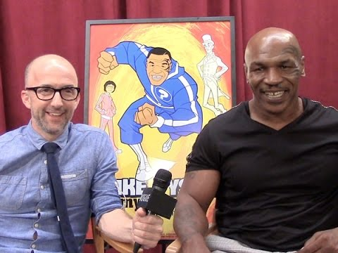 Mike Tyson and Jim Rash Talk 'Mike Tyson Mysteries'