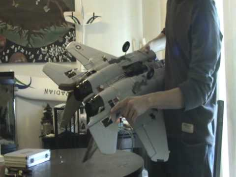 Another piece of junk from BananaHobby... The F-15C EDF Jet