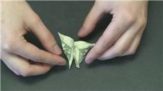 Animal Paper Crafts : How To Fold Paper Money Into A Butterfly