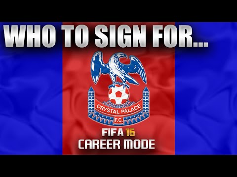 FIFA 16 | Who To Sign For... CRYSTAL PALACE CAREER MODE