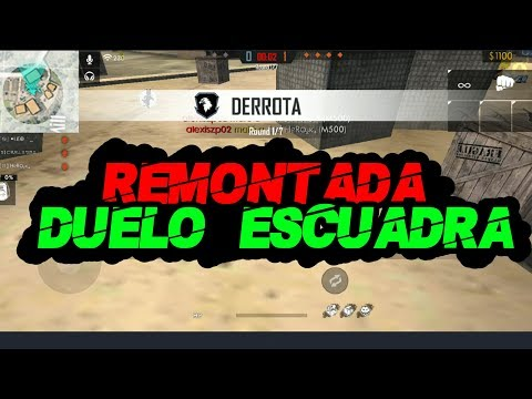 Remontada en DUELO DE ESCUADRAS│Free Fire