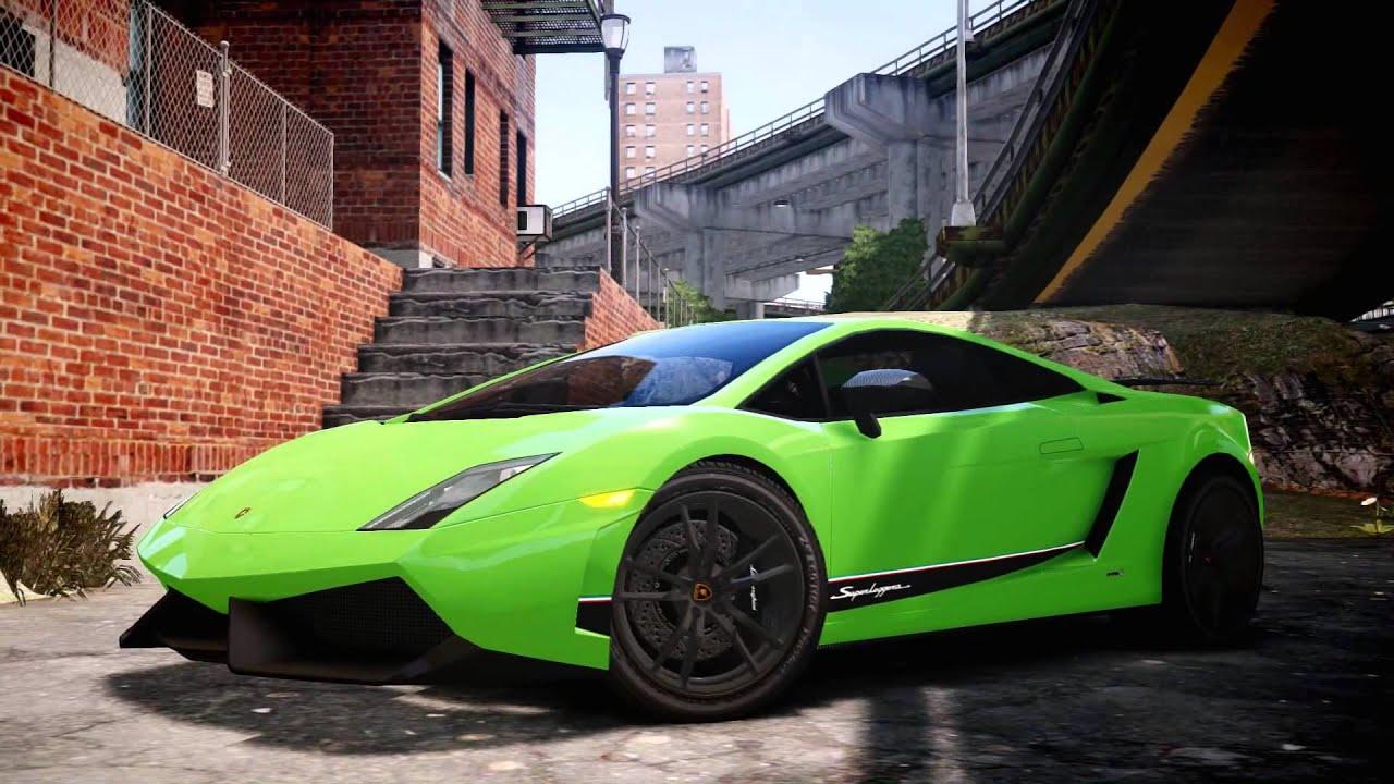 Grand Theft Auto Iv Lamborghini Gallardo Superleggera