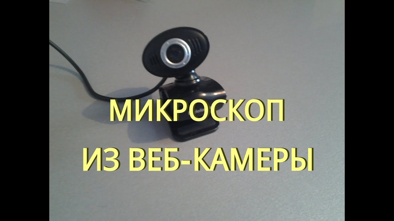 Веб камера своими руками микроскоп