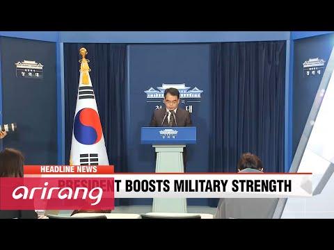 NEWSCENTER 22:00 N. Korea's threat is direct challenge to S. Korea and world: President Park