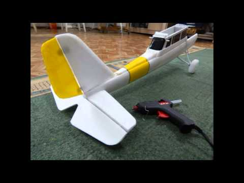 Как сделать самолет из пенопласта чтобы летал