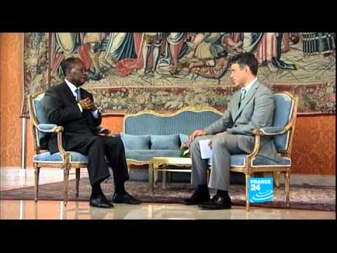 FRANCE 24 The Interview - Ouattara insists Gbagbo must face war crimes trial