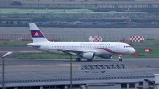 VIP Flight Plane (B-6738 / A320-214 / Kingdom of Cambodia / 2015-07-02 17:16-17:42 JST / HND)