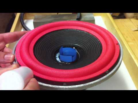 Speaker Repair - Refoaming a Woofer