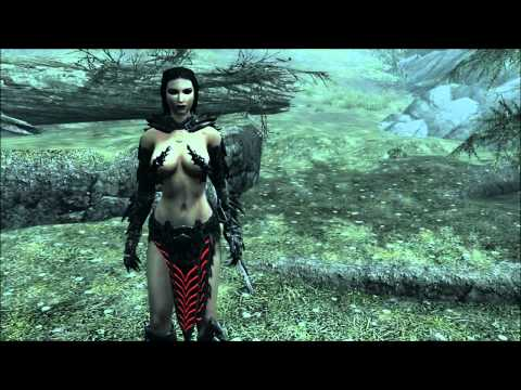 The Elder Scrolls V: Skyrim - Female Daedric Armor Mod