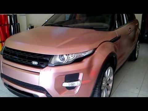 Cara merubah warna mobil tanpa mengganti warna cat aslinya