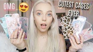 most adorable iphone xs cases ever! iphone case haul omggg😍