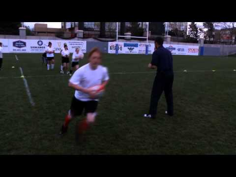 Rookie Rugby - Swerve and Side Step Skills