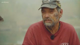 Paradise man battled fire for 10 hours to save house