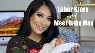 My Labor Story + Meet My Baby!    EVETTEXO