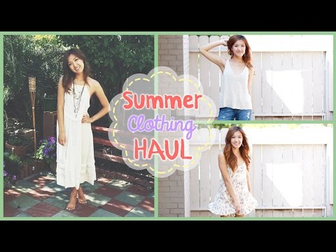 Summer Clothing Haul! | ilikeweylie