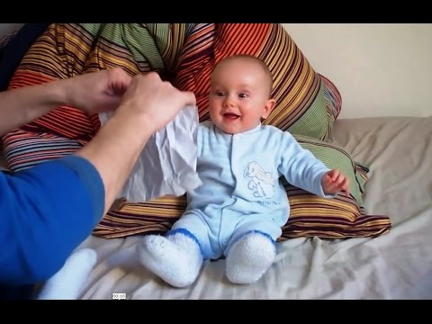 laughing baby ripping paper 2018-7-7 react to that (stylized as reacttothat)  baby laughing at ripping paper escaping baby pandas insane domino tricks s1e6: magic beard and.