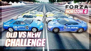 Forza Horizon 4 - Old vs New Cars Challenge! (GT-R, Mustang, 911, etc..)