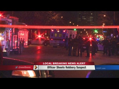 Officer Shoots Fleeing Robbery Suspect