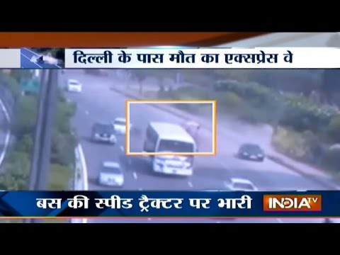 Most Dangerous Road Accidents at Noida-Greater Noida Expressway - India TV