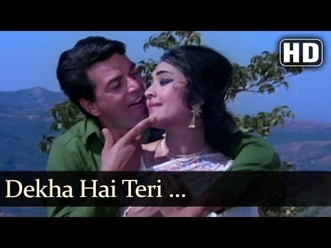 Dekha Hai Teri - Dharmendra - Vaijayantimala - Pyar Hi Pyar -...