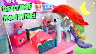 MY LITTLE PONY NIGHT TIME ROUTINE! How Rainbow Dash Spends Her Nights