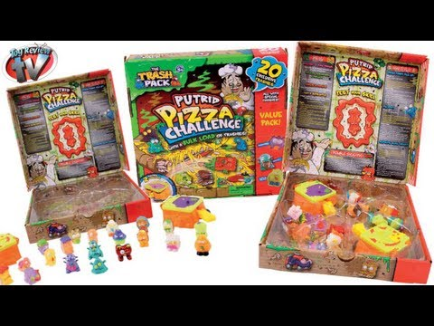 The Trash Pack Putrid Pizza Playset + 20 Exclusive Trashies Toy Review. Moose