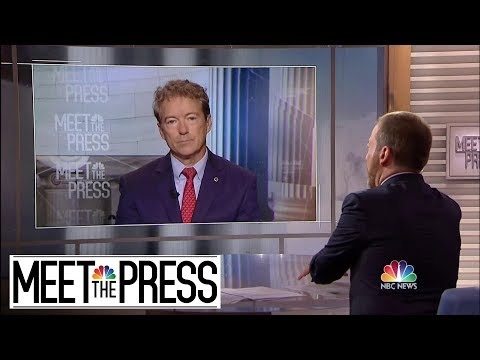 Full Paul: 'Turkey Was Coming In [To Syria] One Way Or Another' | Meet The Press | NBC News