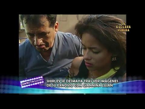 Shirley Arica se desmayó tras ampay de su ex novio con Gianina Luján